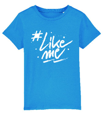 #LikeMe - Logo - Turquoise T-shirt Volwassenen