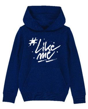 #LikeMe - Logo - Navy Unisex Hoodie