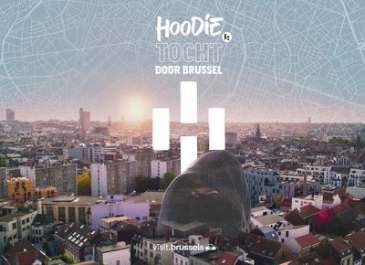"""Hoodie - Boek """"Tocht door Brussel"""""""