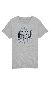 """Helden - Heather Grey """"Held"""" Kinder T-shirt"""